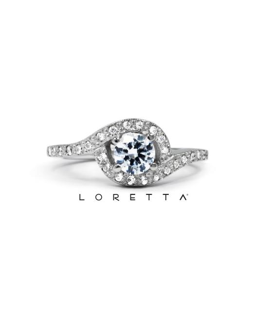 skvostný zásnubný prsteň