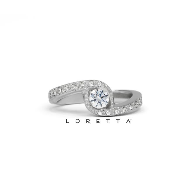 najkrajší zásnubný prsteň
