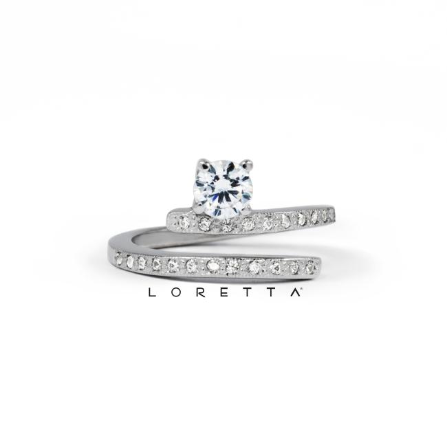 diamntový snubný prsten